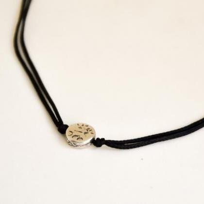 Karma necklace for men, men's neckl..