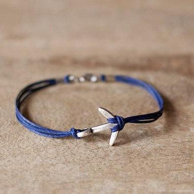 Anchor bracelet for men, men's brac..